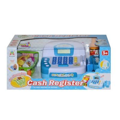 Cash Register Elektronik Oyuncak Yazar Kasa Market Kasası Sesli Işıklı
