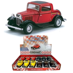 Kinsmart - Çek Bırak Araba Kinsmart 1932 Ford 3-Window Coupe