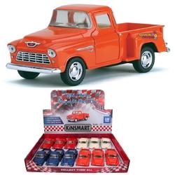Kinsmart - Çek Bırak Araba Kinsmart 1955 Chevy Stepside Pick-Up
