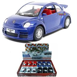 Kinsmart - Çek Bırak Araba Kinsmart Volkswagen New Beetle RSI
