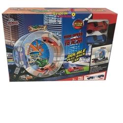 Vardem Oyuncak - Çek Bırak Araçlı Çılgın Oyuncak Yarış Seti (Süper Yarış)