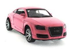 MEGA - Çek Bırak Audi Benzeri Pembe Metal Araba