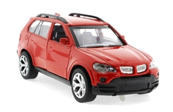 MEGA - Çek Bırak BMV Benzeri Kırmızı Metal Araba