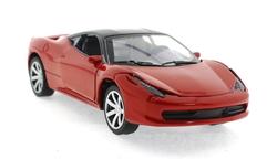 MEGA - Çek Bırak Ferrari Benzeri Kırmızı Metal Araba