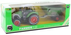 MEGA - Çek Bırak Kovalı Yeşil Traktör