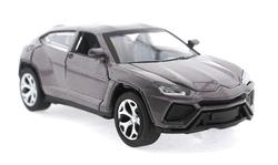 MEGA - Çek Bırak Lamborghini Benzeri Simli Kahve Metal Araba