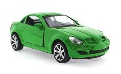 MEGA - Çek Bırak Mercedes Benzeri Yeşil Metal Araba