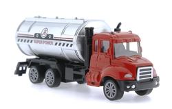 MEGA - Oyuncak Çek Bırak Metal Mini Yakıt KamyonTankeri