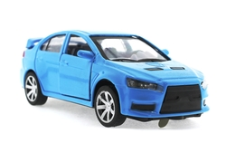 MEGA - Çek Bırak Mitsubishi Benzeri Mavi Metal Araba