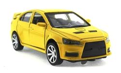 MEGA - Çek Bırak Mitsubishi Benzeri Sarı Metal Araba