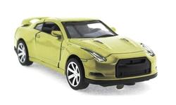 MEGA - Çek Bırak Nissan Benzeri Yeşil Metal Araba