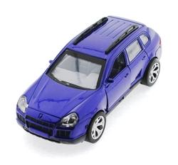 MEGA - Çek Bırak Porsche Benzeri Lacivert Metal Araba