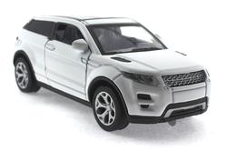MEGA - Çek Bırak Range Rover Benzeri Beyaz Metal Araba