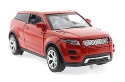 MEGA - Çek Bırak Range Rover Benzeri Kırmızı Metal Araba