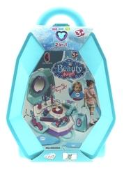 MEGA - Çekçekli Çantalı Oyuncak Güzellik Seti