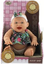 MEGA - Çiçek Elbiseli Gülen Et Bebek
