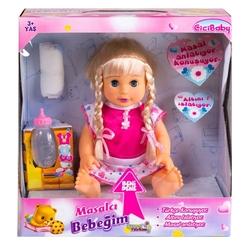 Furkan Toys - Cici Baby Oyuncak Altını Islatan Masalcı Bebeğim