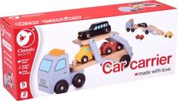 CLASSIC WORLD - Classic World Ahşap Araba Taşıma Tırı ve Araçlar