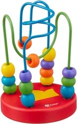 CLASSIC WORLD - Classic World Boncuklu Labirent Mama Sandalyesi Oyuncağı Kırmızı