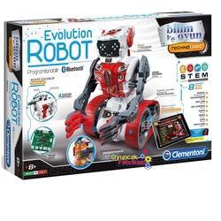 Clementoni - Clementoni 64549 Evolution Robot Bilim ve Oyun+8 yaş
