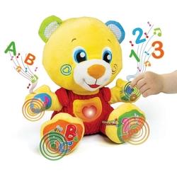 Clementoni - Clementoni Baby Eğitici Oyuncak Peluş Lele+6 ay
