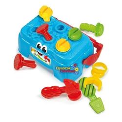 Clementoni - Clementoni Baby Oyuncak Tamir Çalışma Tezgahı 10-36 Ay