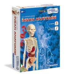 Clementoni - Clementoni Bilim ve Oyun İlk Keşiflerim-İnsan Anatomisi 8+Yaş