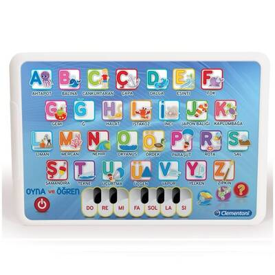 Clementoni Eğitici Elektronik Alfabe Tablet /Oyna Öğren +3 yaş