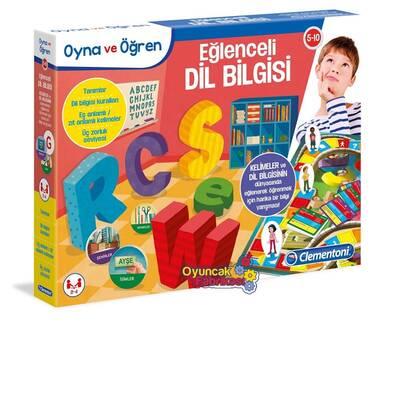 Clementoni Eğitici Oyun Oyna ve Öğren Eğlenceli Dil Bilgisi 5-10 yaş