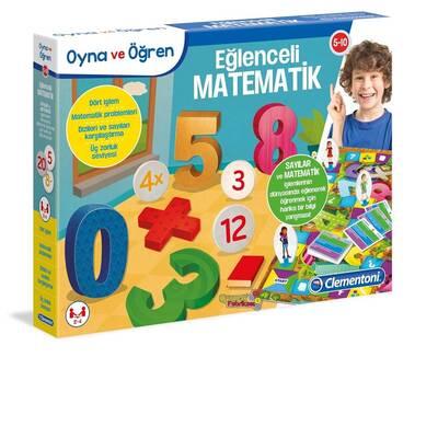 Clementoni Eğitici Oyun Oyna ve Öğren Eğlenceli Matematik 5-10 Yaş