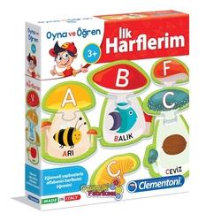 Clementoni Eğitici Oyun Oyna ve Öğren İlk Harflerim 3+Yaş - Thumbnail