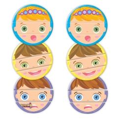 Clementoni Eğitici Oyun Oyna ve Öğren Yüz İfadeleri 2+ - Thumbnail