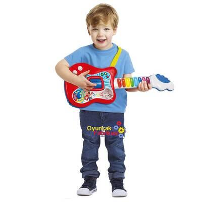 Clementoni Elektronik Eğitici Oyuncak İlk Gitarım İnteraktif 3+Yaş