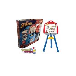 Furkan Toys - Çocuk Yazı Tahtası Ayaklı Marvel Spiderman 79 Parça Lisanslı