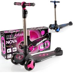 Furkan Toys - Cool Wheels Katlanabilir Scooter Nova Işıklı 6 +Yaş