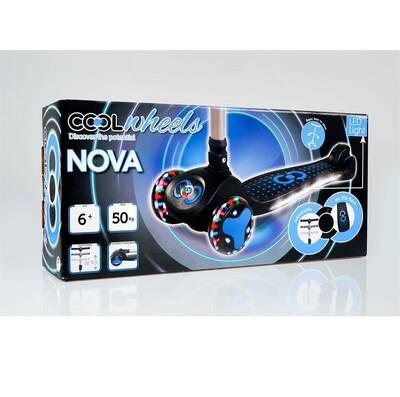 Cool Wheels Katlanabilir Scooter Nova Işıklı 6 +Yaş