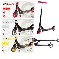 Furkan Toys - Cool Wheels Metal 2 Tekerlekli Katlanabilir Scooter 8+Yaş