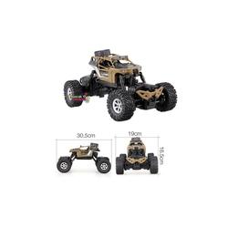 Gepet Toys - Crazon 4WD 4x4 Crawler Arazi Aracı Karada Ve Suda Giden Kumandalı Araba