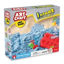 Art Craft - Dede Art Craft Inşaat Kinetik Kum Seti 500 gr