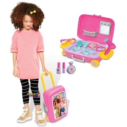 Dede Toys - Dede Barbie Oyuncak Güzellik Set Bavulum