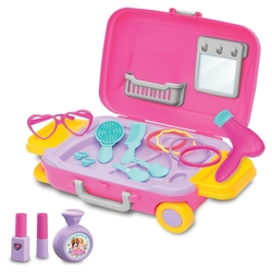 Dede Barbie Oyuncak Güzellik Set Bavulum - Thumbnail