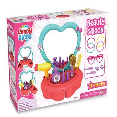 Dede Candy Ken Oyuncak Güzellik Salonu 16 Parça