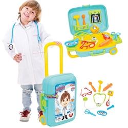 Dede Toys - Dede Candy&Ken Oyuncak Doktor Set Bavulum