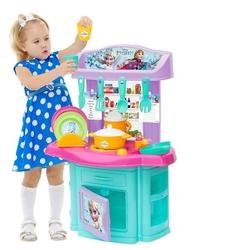 Dede toys - Dede Disnep Frozen Şef Oyuncak Mutfak Seti 16 Parça