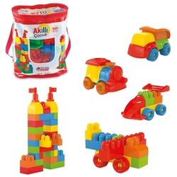 Dede Toys - Dede Eğitici Akıllı Çocuk Bloklar 100 Parça
