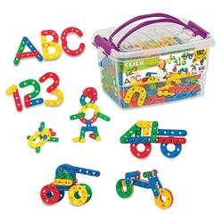Dede Toys - Dede Eğitici Oyuncak Click Clack Box 192 Parça