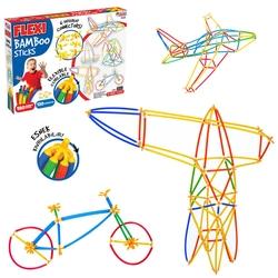 Dede toys - Flexi Bambu Çubuklar (300 Parça )
