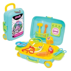 Dede toys - Dede Minnie Mause Oyuncak Doktor Set Bavulum