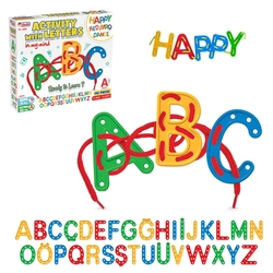 Dede toys - Dede Oyuncak 140 Parça Harflerle Aktivite Oyunu