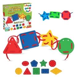 Dede toys - Dede Oyuncak 156 Parça Şekillerle Aktivite Oyunu